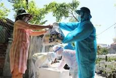 Phú Yên trao hơn 2.000 túi an sinh cho người dân các khu phong tỏa