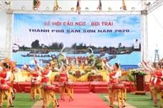 Lễ hội Cầu ngư - Bơi chải năm 2020 thu hút khách du lịch đến với Sầm Sơn