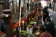 Người Bahnar ở Gia Lai ăn mừng mùa lúa mới