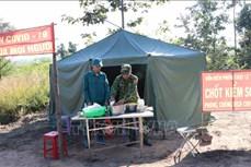 Khi quân - dân ở Gia Lai đồng lòng chống dịch COVID-19