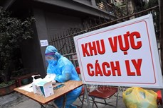 Dịch COVID-19: Ngày 15/2 ghi nhận thêm 40 ca mắc mới tại Hà Nội và Hải Dương