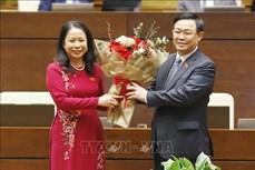 Bà Võ Thị Ánh Xuân được bầu giữ chức Phó Chủ tịch nước nhiệm kỳ 2016 - 2021