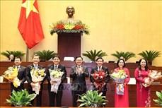 Trình danh sách đề cử để bầu chủ nhiệm một số ủy ban của Quốc hội, Tổng Thư ký Quốc hội khóa XIV, Tổng kiểm toán Nhà nước nhiệm kỳ 2016-2021