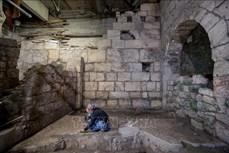 Israel phát lộ nhiều căn phòng cổ dưới lòng đất tại Jerusalem