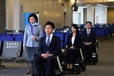 Nhật Bản ra mắt thiết bị vận chuyển hành khách tự động tại sân bay