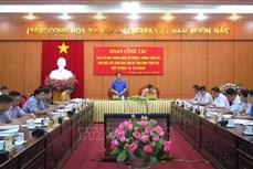 Phó Trưởng ban Chỉ đạo Trung ương về Phòng chống thiên tai Trần Quang Hoài: Hà Giang cần tăng cường cảnh báo về phòng ngừa thiên tai