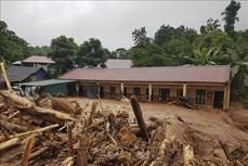 Sau mưa lớn, xảy ra lũ ống, lũ quét tại huyện Nậm Pồ, Điện Biên