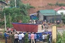Ba học sinh tử vong vì sập cổng trường ở Lào Cai