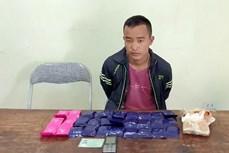 Bắt đối tượng Thào A Dủa mua bán trái phép 6.000 viên ma túy tổng hợp