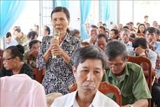 Cử tri Đắk Lắk kiến nghị nhiều vấn đề liên quan đến nông nghiệp, nông thôn
