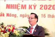 Ông Ngô Thanh Danh được bầu làm Bí thư Tỉnh ủy Đắk Nông
