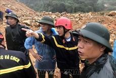 Vụ sạt lở tại Thủy điện Rào Trăng 3: Khối lượng đất đá sạt lở ước tính trên 30.000 m3, độ sâu từ 5-7m