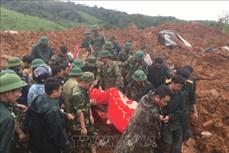 Sạt lở đất ở Hướng Hóa - Quảng Trị: Khẩn trương tìm kiếm các nạn nhân còn mất tích trong thời gian sớm nhất