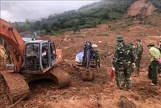 Sạt lở đất ở Hướng Hóa - Quảng Trị: Tìm được thêm 2 thi thể cán bộ, chiến sỹ