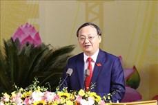 Ông Đỗ Tiến Sỹ tái đắc cử Bí thư Tỉnh ủy Hưng Yên