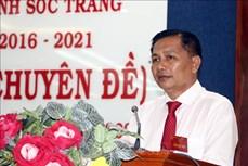 Ông Trần Văn Lâu được bầu giữ chức Chủ tịch Ủy ban nhân dân tỉnh Sóc Trăng 