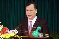 Ông Lê Quốc Chỉnh được bầu làm Chủ tịch HĐND tỉnh Nam Định
