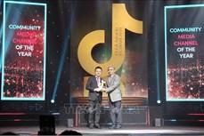 Factcheckvn giành giải Kênh thông tin có tác động xã hội tại TikTok Awards Việt Nam 2020