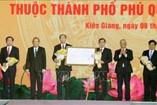 Công bố Nghị quyết thành lập thành phố Phú Quốc và các phường trực thuộc