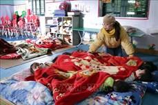 Rét đậm, rét hại, 132 trường học ở Lai Châu cho học sinh nghỉ học vào ngày 11/1