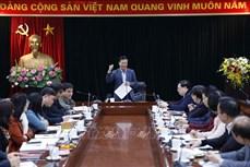 Tiến tới Đại hội XIII của Đảng: Sẽ khai trương Trung tâm Báo chí phục vụ Đại hội XIII của Đảng vào ngày 22/1