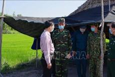 Căng mình phòng chống dịch COVID-19 trên tuyến biên giới Tây Ninh