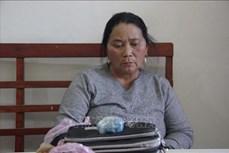 Bắt giữ đối tượng Và Thị Sông mua bán trái phép chất ma túy tại Điện Biên