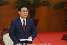 Bí thư Thành ủy Hà Nội Vương Đình Huệ chỉ đạo khẩn trương bắt tay vào công việc ngay sau kỳ nghỉ Tết