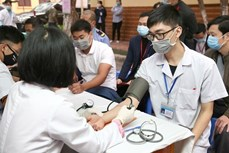 Ngày Thầy thuốc Việt Nam 27/2: Gần 800 cán bộ y tế hiến máu vì người bệnh