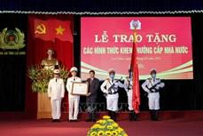 Lai Châu: Trao tặng Huân chương Bảo vệ Tổ quốc cho một số tập thể, cá nhân 