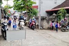 Hiệu quả mô hình cổng trường an toàn giao thông tại Sơn La
