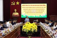Đoàn công tác Ban Dân vận Trung ương làm việc tại tỉnh Lai Châu