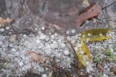 Gió lốc và mưa đá gây thiệt hại trên địa bàn huyện Mộc Châu