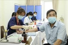 Hoàn tất 560 mũi tiêm thử nghiệm thứ nhất vaccine ngừa COVID-19 Nano Covax giai đoạn 2