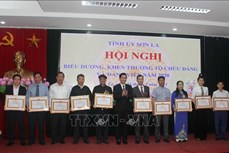 Sơn La: Biểu dương, khen thưởng các tổ chức đảng và đảng viên tiêu biểu