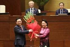 Đồng chí Vương Đình Huệ trúng cử chức Chủ tịch Quốc hội với 98,54% phiếu tán thành