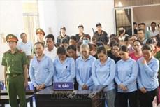 Đắk Lắk: Hơn 120 năm tù cho các bị cáo lừa đảo chiếm đoạt tài sản của các nhà hàng tiệc cưới