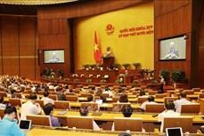 Kỳ họp thứ 11, Quốc hội khóa XIV: Thực hiện quy trình miễn nhiệm Thủ tướng Chính phủ và Chủ tịch nước
