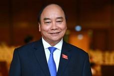 Kỳ họp thứ 11, Quốc hội khóa XIV: Ông Nguyễn Xuân Phúc trúng cử chức vụ Chủ tịch nước với 97,5% đại biểu tán thành