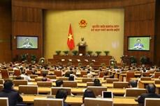 Kỳ họp thứ 11, Quốc hội khóa XIV: Trình miễn nhiệm Phó Chủ tịch nước và một số Ủy viên Ủy ban Thường vụ Quốc hội