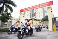 Ra quân cao điểm bảo đảm an toàn giao thông dịp lễ 30/4, 1/5 và bảo vệ bầu cử