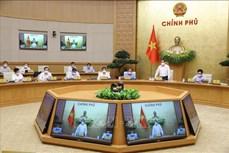 Thủ tướng Phạm Minh Chính chủ trì phiên họp Chính phủ thường kỳ đầu tiên