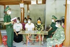 Điện Biên đảm bảo an ninh trật tự và công tác phòng dịch COVID-19 ở vùng biên