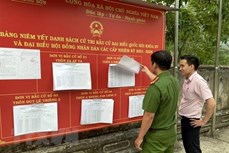 Bầu cử QH và HĐND: Triển khai đồng bộ các nhiệm vụ theo quy định của pháp luật về bầu cử