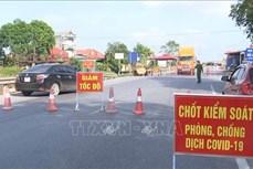 Dịch COVID-19: Giãn cách xã hội toàn huyện Yên Phong (Bắc Ninh) từ 14 giờ ngày 15/5