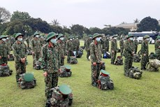 Quân đội tăng cường lực lượng chi viện cho các địa phương chống dịch COVID-19