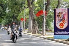 Bầu cử QH và HĐND: Hà Nội rực rỡ cờ hoa đón Ngày hội lớn