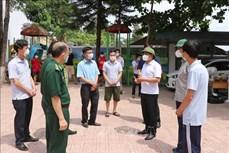 Điện Biên: Kiểm tra công tác phòng, chống dịch COVID-19 trên địa bàn huyện Nậm Pồ