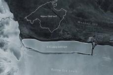 Phát hiện tảng băng lớn tách khỏi Nam Cực