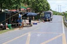 Bí thư tỉnh ủy Lai Châu Giàng Páo Mỷ kiểm tra công tác phòng, chống dịch COVID-19 tại khu vực biên giới